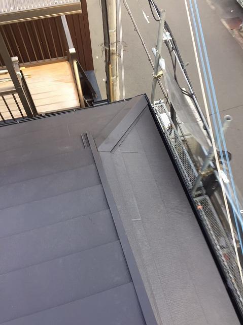 奈良市の雨漏り修理での母屋部分