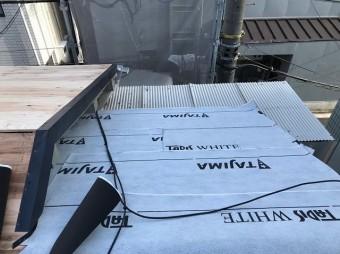 橿原市 防水紙 設置