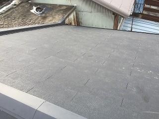 連棟屋根完工
