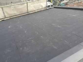 屋根 完工