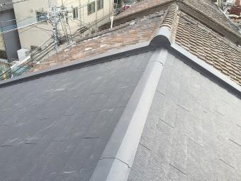 連棟屋根 完工
