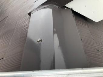 奈良市の雨漏りの住宅の屋根の板金