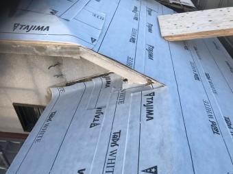 斑鳩町 防水紙 設置