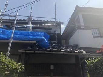王寺町の入母屋屋根の無料点検