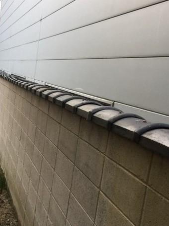 大和郡山市 お寺 ブロック塀修理 施工後