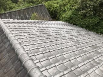 新和瓦設置の屋根