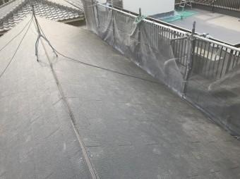 カラーベストを敷き詰めた屋根