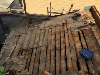 野地板屋根