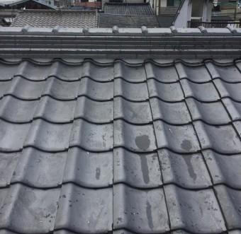 new葺き替え完了屋根瓦