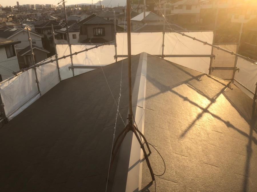 奈良市 海川邸 屋根葺き替え後