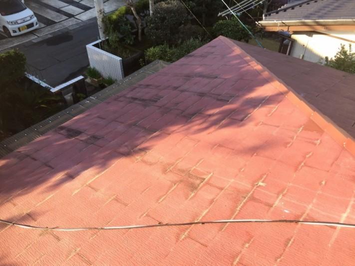 屋根 工事前