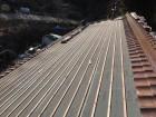 瓦桟設置の屋根の様子