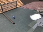 茶色い雨樋の取り換え
