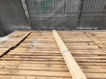 野地板の屋根の状態