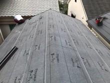 屋根の重要事項防水紙