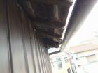 工事前の軒天部分