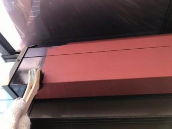 奈良市の住宅のシャッターBOX塗装