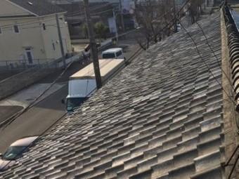 香芝市の和瓦屋根の無料点検