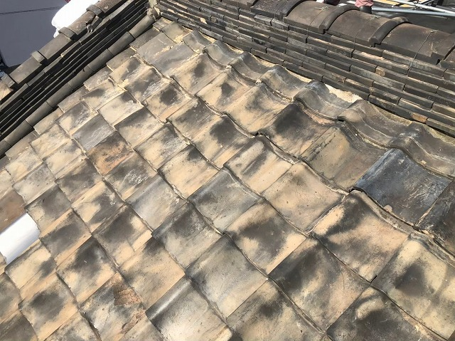 奈良市の瓦屋根修理