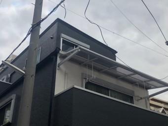 奈良市の台風被害の立平葺き施工後