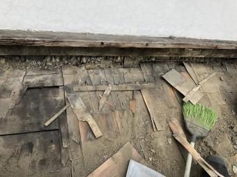 奈良市 瓦撤去 トントン葺き