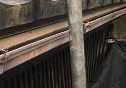 奈良市の雨樋施工前
