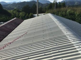 屋根材 施工後