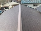 天理市の屋根葺き替え工事の完成写真