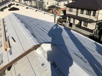 生駒市 防水紙 設置