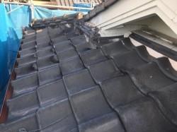 大屋根葺き替え前