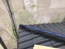 棟垂木に乾式面戸シート設置