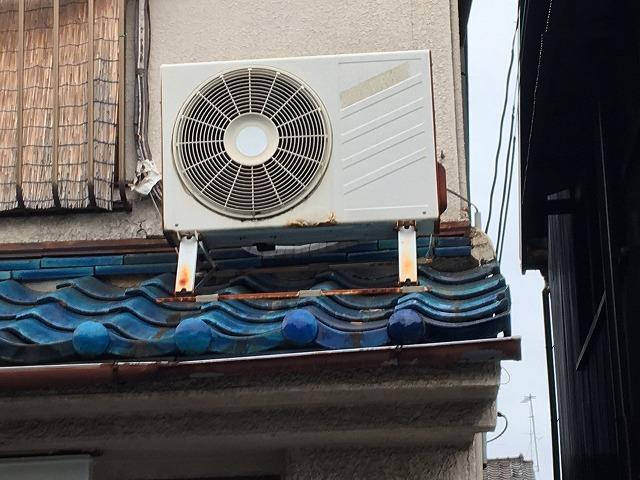 補修後屋根瓦