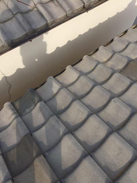 奈良市の平瓦の瓦交換