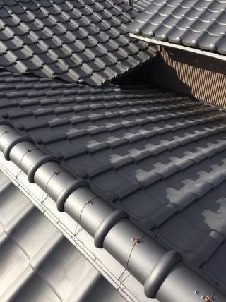 大和郡山市の複合タイプの屋根の施工後