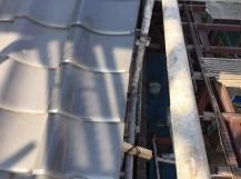 袖瓦の補修工事完了