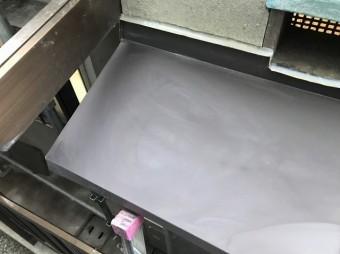 河合町で庇部分をガルバリウム鋼板に張り替え