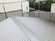 王寺町のリファインルーフ屋根の倉庫