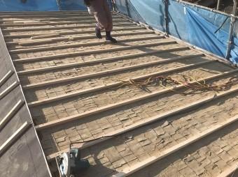 屋根のかさ上げ