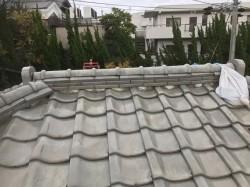 葛城市 雨漏りの瓦屋根 無料点検