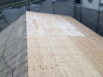 野地板は構造用合板を使用