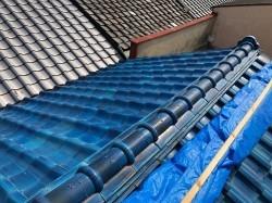 生駒市の葺き替え工事のbefore写真