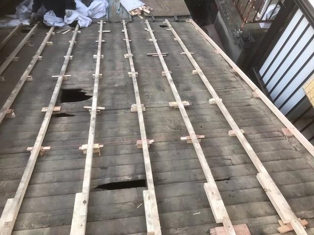 桜井市 不陸調整作業