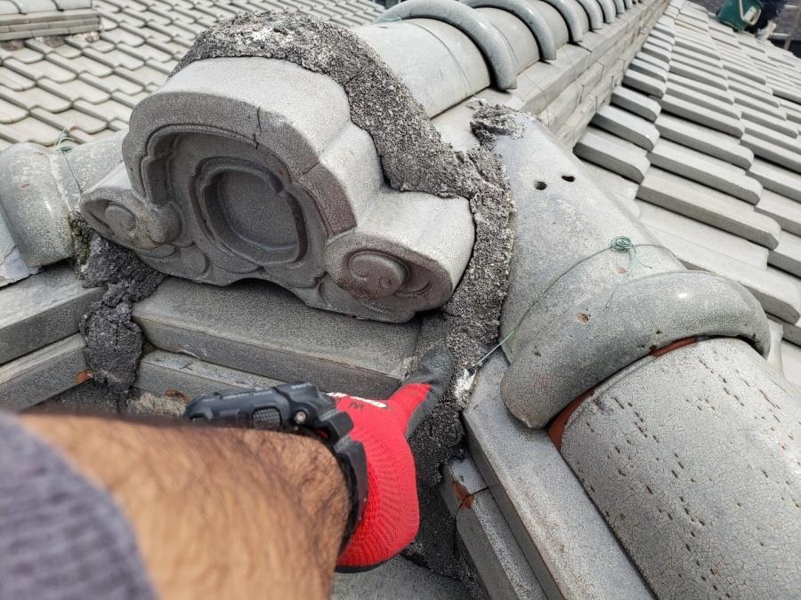 大阪市内の瓦屋根の無料点検、寄棟屋根