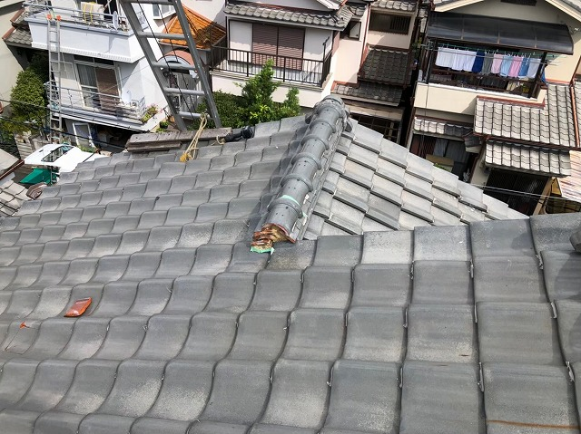 橿原市で大屋根の無料点検