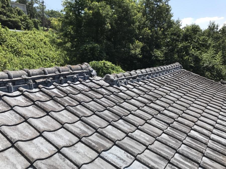 工事を始める前の屋根