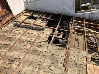 奈良市 トタン波板 撤去