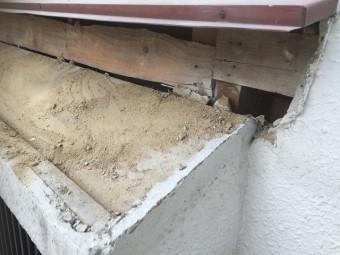 出窓屋根 施工前