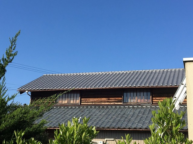 生駒市 屋根 施工後
