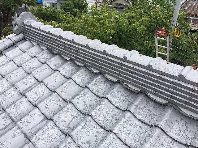 奈良市の瓦屋根の葺き替え完了