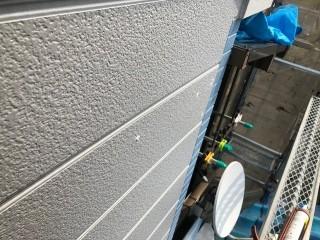 奈良市の住宅の外壁塗装、妻側塗装後